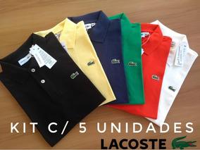 Camisas Polos Legitimas Peruana Kit 5 Peças Atacado
