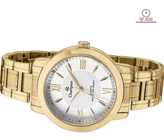 Relógio Feminino De Luxo Original Champion Passion Ch24697h