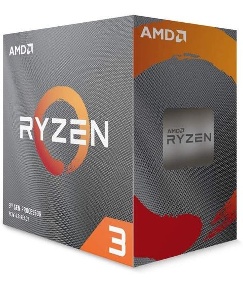 Processador Amd Ryzen 3 3100 - Produto Lacrado E C/ Garantia