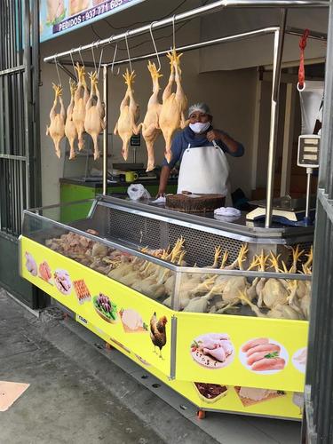 Vitrina Exhibidora De Venta De Aves Y Carnes