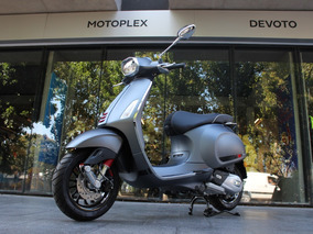 Vespa Sprint Sport 150 Gris Mate - Motoplex Devoto