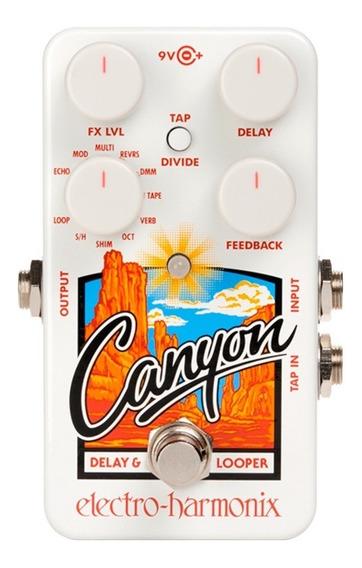 Pedal Analógico Electro Harmonix Canyon Delay & Looper