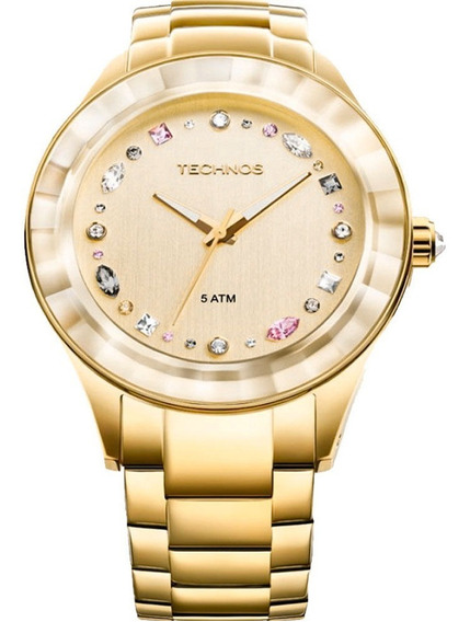 Relógio Technos Elegance Feminino Crystal - 2036lms/4x