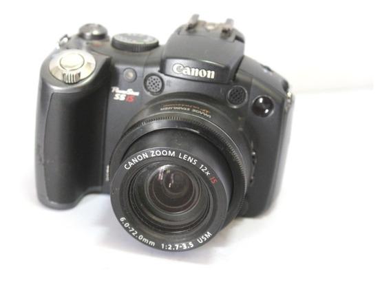 Câmera Digital Canon Powershot S5is Sucata Retirada Peças
