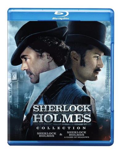 Blu-ray Sherlock Holmes 1 & 2 / Incluye 2 Films