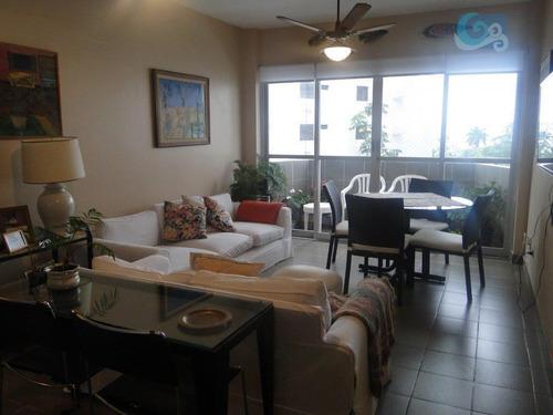 Imagem 1 de 15 de Apartamento Para Locação, Praia Da Enseada - Restaurantes, Guarujá. - Ap4244