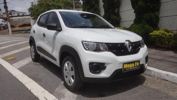Renault Kwid 1.0 12v Zen Sce Completo Branco 2018