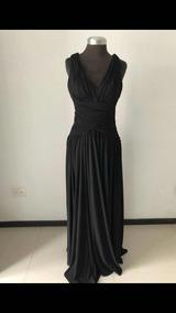 c08869364 Vestido Negro Forma Cintura Marca Nikki