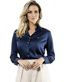 Camisa Social Feminina Principessa Jussara Frete Grátis