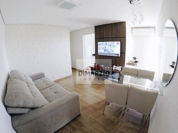 Apartamento Com 2 Dormitórios À Venda, 59 M² Por R$ 290.000 - Jardim Dona Regina - Santa Bárbara D