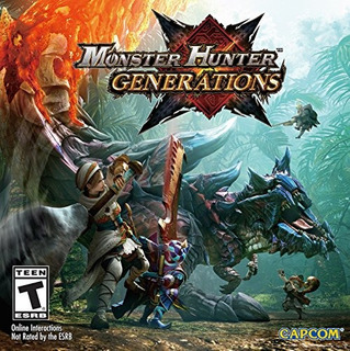 Juegos,monster Hunter Generaciones - Nintendo 3ds Standa..