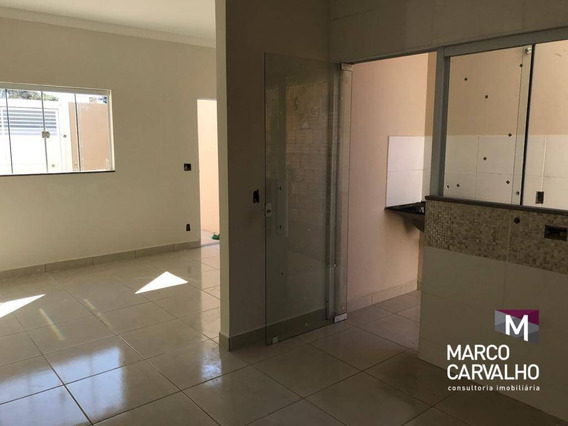 Casa Com 2 Dormitórios À Venda, 54 M² Por R$ 140.000 - Parque Das Vivendas - Marília/sp - Ca0521