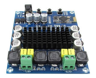 Modulo Amplificador Bluetooth Audio Estereo 2 X 120w Tpa3116