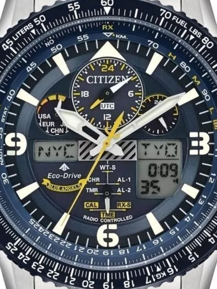 Citizen Blue Angels Promaster Skyhawk A-t Jy8078-52l