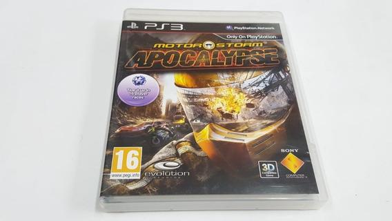 Motor Storm Apocalypse - Ps3 - Original
