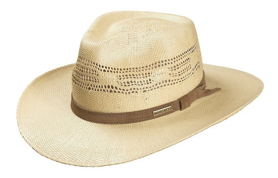 Chapeu Casual Marcatto Shangtung Outback Rendado Country