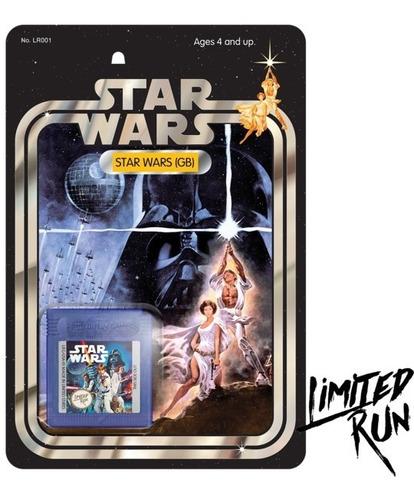 Star Wars Nintendo Game Boy Limited Run Games Novo/raro!