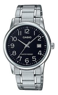 Reloj Casio Hombre Mtp-v002d 1b Metal Wr Agente Oficial Caba Garantia 2 Años