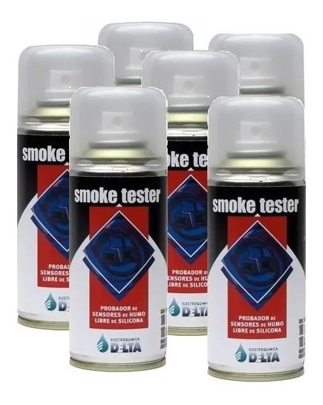 Smoke Tester Test Detector Sensor Detectores Humo Pack X 6