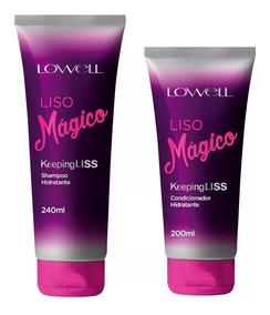 Lowell Liso Mágico Kit Duo Shampoo E Condicionador + Brinde!