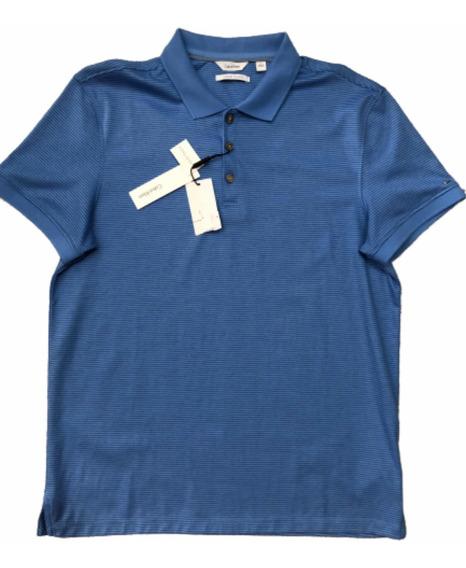 Polo Calvin Klein Hombre Azul