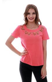 Blusa T-shirt Feminino Com Borboletas Brilhantes Importado