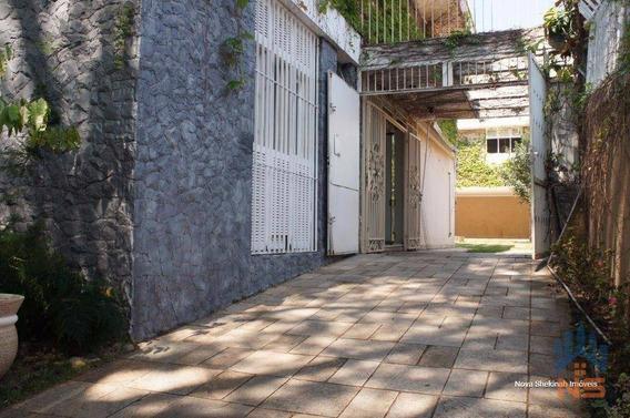 Casa Residencial À Venda, Jardim Leonor, São Paulo - Ca3281. - Ca3281