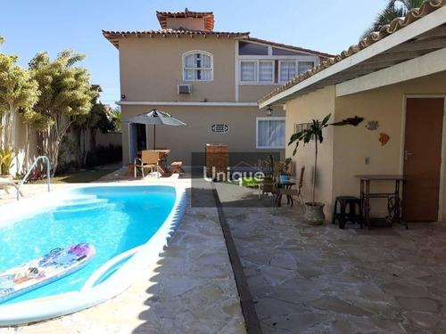 Casa Com 4 Dormitórios À Venda, 220 M² Por R$ 1.000.000,00 - Geribá - Armação Dos Búzios/rj - Ca0627