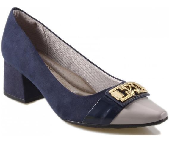 Scarpin Feminino Piccadilly - Salto Grosso - Ref 744052