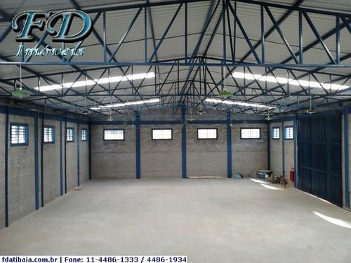 Imagem 1 de 17 de Galpões Industriais Para Alugar  Em Atibaia/sp - Alugue O Seu Galpões Industriais Aqui! - 578069