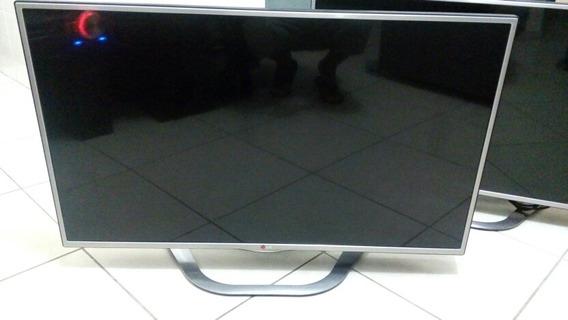 Tv LG 42la6130 Cinema 3d Com Linha Na Tela Leia A Descrição.