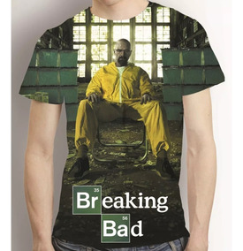 Camisa Série Breaking Bad Camiseta Walter Wither E Jesse