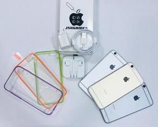 iPhone 6s 16gb Liberado Forro Vidrio Audifono 1 Mes Garantía