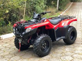 Quadriciclo Honda Fourtrax 420 4x4 * Pouco Uso *