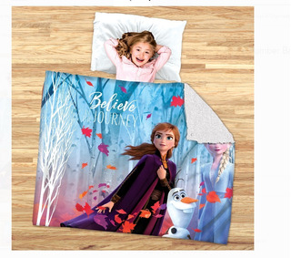 Última!cobertor Frozen 2 Cobija Frozen 2 Aborregada