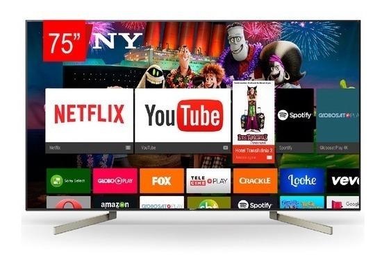 Tv Led Sony 75 Xbr-75x905f Smart, 4k Pronta Entrefa