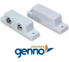 Sensor Alarme Porta Janela Magnético Genno Ecp Intelbras Jfl