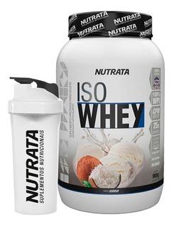 Iso Whey Nutrata 900g - Whey Isolado - Promoção