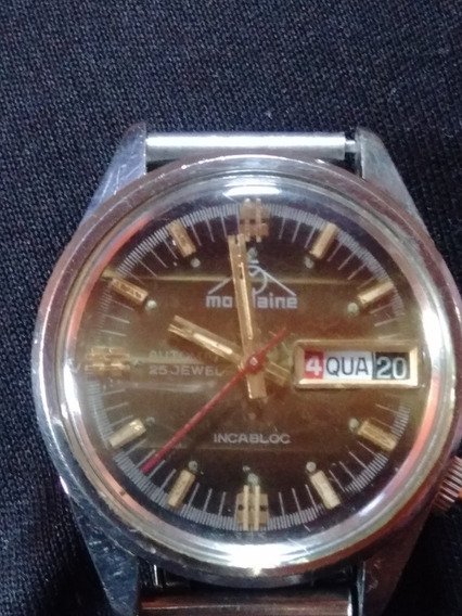 Relógio Mondaine 25 Jewel Incabloc Swiss