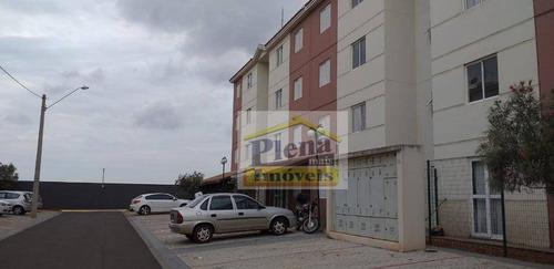 Imagem 1 de 12 de Apartamento Com 2 Dormitórios À Venda, 50 M² Por R$ 150.000 - Viver Sumaré - Sumaré/sp - Ap0938