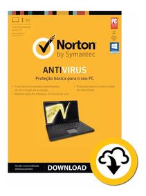 Norton Antivírus - 1 Computador - 1 Ano - Download