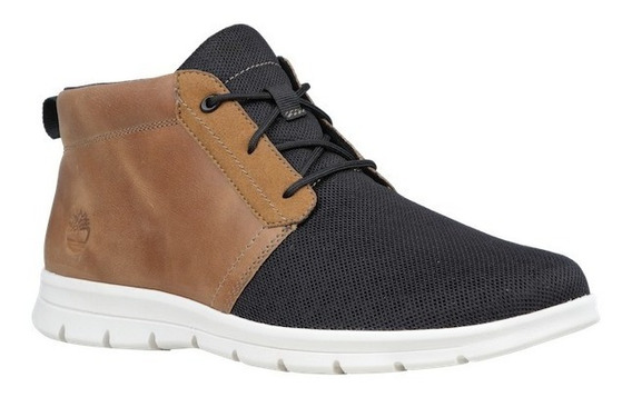 Tenis Timberland Hombre Negro Cafe Graydon Mid Tb0a1ofy110