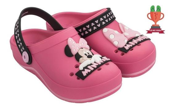Babuche Sandália Crocs Infantil Menina Lol, Mickey, Minnie, Barbie - Emborrachada Solado Antiderrapante Confortável