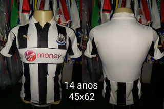 Camisa Newcastle Puma Listrada 14 Anos