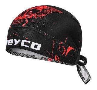 Bandana Esporte Ciclismo | Lenço Caveira Proteção Cabelos