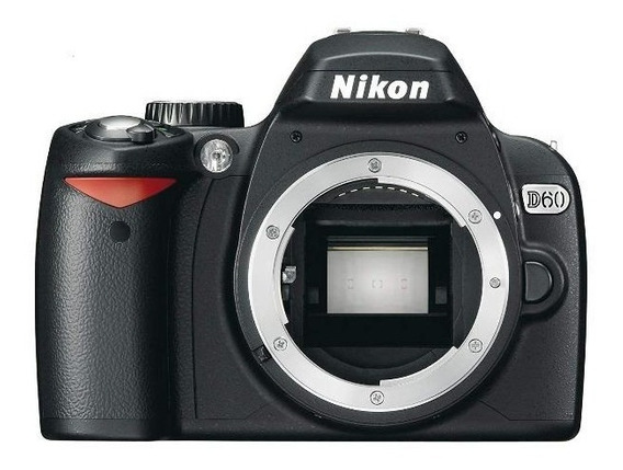 Corpo Nikon D60+acessorios