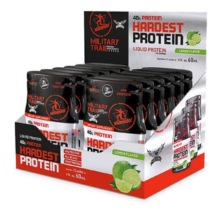 Whey Hardest Protein Midway 12 Unidade Proteína Líquida C/ Bcaa Military Trail Importado Usa Eua Promoção