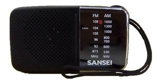 Radio Portatil Sansei Rx7 De Bolsillo Am Fm A Pilas Nuevo
