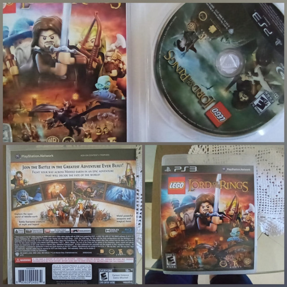Games Jogos Ps3 Usados Lego Lords Of The Ring