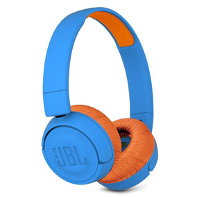 Fone De Ouvido Para Criança Jbl Jr 300 Bt - Infantil Azul